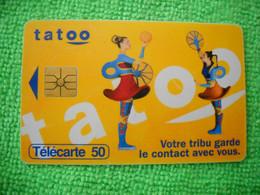 7096 Télécarte Collection TATOO Votre Tribu Garde Le Contact  Téléphone    50u  ( Recto Verso)  Carte Téléphonique - Telefoni