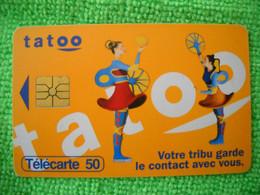 7097 Télécarte Collection TATOO Votre Tribu Garde Le Contact  Téléphone    50u  ( Recto Verso)  Carte Téléphonique - Telefoni