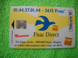 7098 Télécarte Collection 3615  FNAC DIRECT    50u  ( Recto Verso)  Carte Téléphonique - Cultura