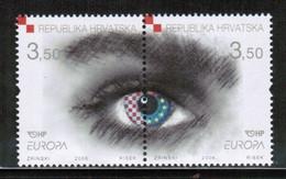 CEPT 2006 HR MI 772-73 CROATIA ** - 2006
