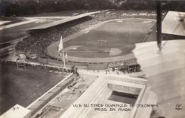 Jeux Olympiques De 1924 - Vue Du Stade Olympique De Colombes Prise En Avion - Match De Foot - Juegos Olímpicos