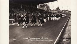 Jeux Olympiques De 1924 - L'équipe De Grande-Bretagne / Great Britain Team (Carte-photo) - Juegos Olímpicos