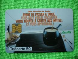 7101 Télécarte Collection SAUTER Plaques Chauffantes   (œuf Au Plat)  50u  ( Recto Verso)  Carte Téléphonique - Altri