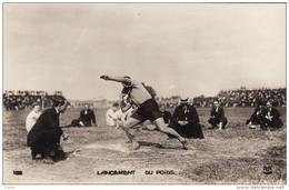 Jeux Olympiques De 1924 - Lancement Du Poids / Shot Put - Juegos Olímpicos