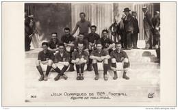Jeux Olympiques De 1924 - Football - Equipe De Hollande / Holland Team - Juegos Olímpicos