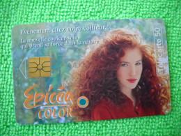 7110 Télécarte Collection EPICEA COLOR  Coloration Cheveux Shampoing     50u  ( Recto Verso)  Carte Téléphonique - Pubblicitari