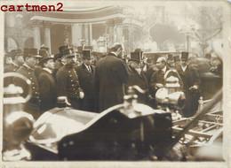 PHOTOGRAPHIE ANCIENNE : PARIS STAND DARRACQ INAUGURATION 11e SALON DE L'AUTOMOBILE PRESIDENT FALLIERES CAR EXPOSITION - Turismo