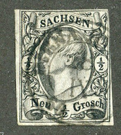 16762 *offers Welcome* 1855 Mi.8 Used - Sachsen