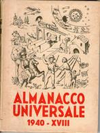 B 4315 - Fascismo, Almanacco 1940 - Unclassified