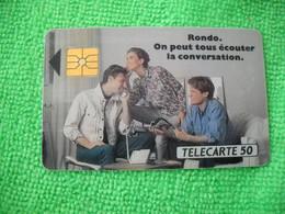 7112 Télécarte Collection RONDO Téléphone     50u  ( Recto Verso)  Carte Téléphonique - Telefoni