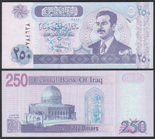 Irak - Iraq 250 Dinars (2002) Pick 88 UNC (1)    (28509 - Other - Asia