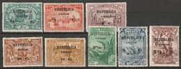 Portuguese Congo 1913 Sc 83-90  Set MH* - Portugiesisch-Kongo