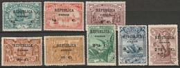 Portuguese Congo 1913 Sc 75-82  Set MH* - Portugiesisch-Kongo