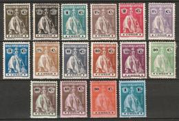 Portuguese Congo 1913 Sc 99-114  Complete Set MH* Some Disturbed Gum - Portugiesisch-Kongo