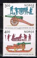 NORVEGE / Neufs**/MNH** / 1985 - Artillerie Norvégienne - Unused Stamps