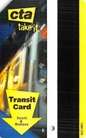 CTA Transit Card From Chicago In 2004 - Andere