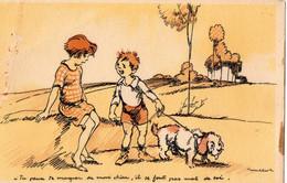 Poulbot F. (carte Légèrement Pliée). Zozo De Montmartre. - Poulbot, F.