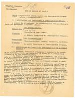 FRANCHISE POLYNESIE SERVICE ENSEIGNEMENT 1961 PAPEETE SUPERBE LETTRE ATTRIBUTION POSTES ILES DU VENT, ILES SOUS LE VENT, - 1961-....