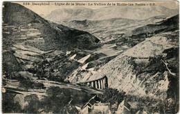 41ln 511 CPA - LIGNE DE LA MURE - LE VALLON DE LA MOTTE LES BAINS - Ohne Zuordnung