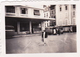 Photo 6.5 Cm X4.5 Cm - PAU - Place Georges Clemenceau  - Aout 1934 - Places