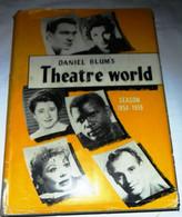 """DANIEL BLUM'S ANNUARIO """" THEATRE WORLD 1958 - 59"""" EDITED BY JOHN WILLIS - Cinema E Musica"""