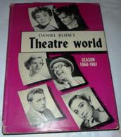 """DANIEL BLUM'S ANNUARIO """" THEATRE WORLD 1960 - 61"""" EDITED BY JOHN WILLIS - Cinema E Musica"""