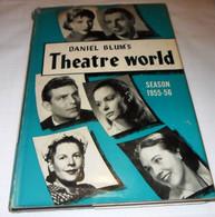 """DANIEL BLUM'S ANNUARIO """" THEATRE WORLD 1955 - 56"""" EDITED BY JOHN WILLIS - Cinema E Musica"""