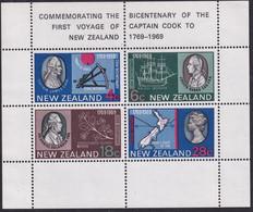 New Zealand 1969 Captain Cook Sc 434a Mint Never Hinged - Ongebruikt