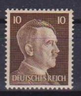 GERMANIA  REICH 1941 EFFIGE DI ADOLF HITLER UNIF. 710A MNH XF - Neufs
