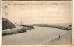 B4SA 2434 CPA - SAINT VALERY EN CAUX - LE PORT - Saint Valery En Caux
