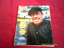 PARIS MATCH  N°  1140     //    13 MARS    1971   COUVERTURE   FERNANDEL - Musique