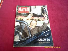 PARIS MATCH  N°  391   //   6 OCTOBRE 1956   SALON  1956   COUVERTURE  MAURICE CHEVALIER - Musique