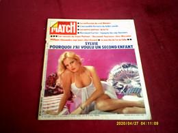 PARIS MATCH  N°  1291   //   2 FEVRIER 1974  COUVERTURE  SYLVIE VARTAN - Musique