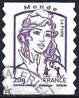 France 2013 - Mi 5638 YB - YT Ad 853 ( Marianne Of Ciappa & Kavena ) Self Adhesive - 2013-... Marianne Van Ciappa-Kawena