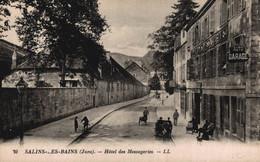 39 SALINS-LES-BAINS    CPA    Hôtel Des Messageries - Altri Comuni