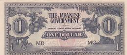 Malaisie - Billet De 1 Dollar - Occupation Japonaise WWII - Non Daté (1942) - Presque Neuf - M5c - Maleisië