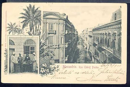 AF841 ALEXANDRIE - RUE CHERIF PACHA (RETRO INDIVISO ) - Unclassified