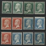 N° 170 à 181 Neufs ** (MNH) Cote 190 € Série PASTEUR Complète. TB - Unused Stamps