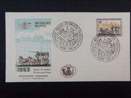 "BELG.1963 1249 FDC ( Bruxs-Brus ) : "" Dag Van De Postzegel / Journée Du Timbre "" - 1961-70"