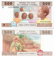 Cameroun - Central African States 2002 - 500 Francs - Pick 206U UNC Letter U - Cameroon