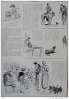 Chez Les Chiens - à L'exposition Canine - Prix De Beauté -  Page Original - 1932 - Documentos Históricos