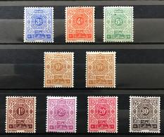 MAROC 1945 - NEUF*/MH - 2 Séries Complètes TAXE YT 49 / 52 + YT 53 / 56 - Impuestos