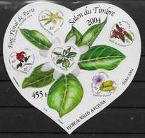2004 Wallis Et Futuna  N° BF 16. Nf** MNH . Fleurs, Hibiscus, Ilang-ilang, Frangipanier, Ipomée, Fleur De Tiaré - Blocks & Sheetlets