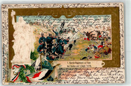 53167608 - 1. Garde- Regiment Zu Fuss Bei Sedan 1870 - Regimientos