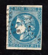FRANCE - CERES - N° 46 B - OBLITERE - 1870 Emissione Di Bordeaux