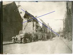 Allemande  Photo - 02 ( Aisne ) Frankreich - St.Quentin -  Soldats Allemande  - WWI 1.WK - 1914-18