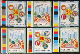 Vietnam Viet Nam MNH Imperf, Perf & Specimen Stamps 2021 : LIVING SAFELY WITH COVID-19 PANDEMIC / VACCINATION (Ms1141) - Vietnam