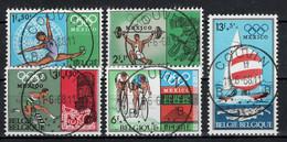 BELGIE: COB 1456/1460  Mooi Gestempeld. - Usados