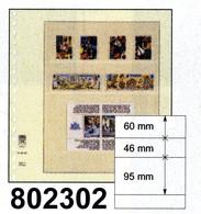 LINDNER-T-Blanko - Einzelblatt 802 302 - Blank Pages