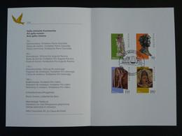 Encart PTT Folder Art Gallo-romain Suisse Switzerland 1997 - Archéologie